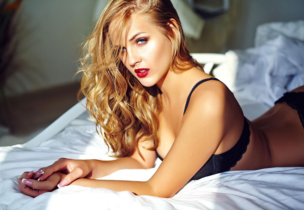 sexy European woman